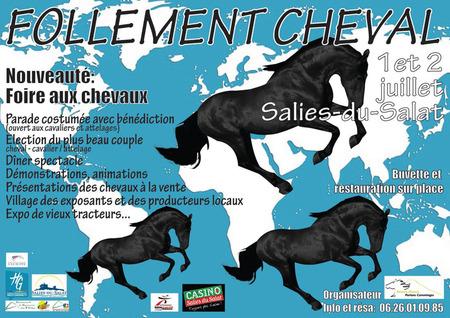 Follement Cheval 6ème édition 2017